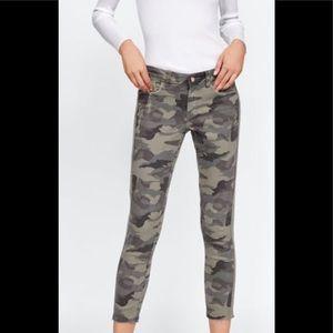 Zara Camo Jeans NWT